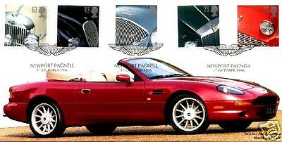 1996 Cars - Bletchley Park Aston Martin Official Cover (£185 at Bletchley Park)!