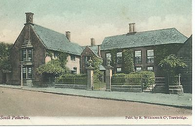 Printed postcard of the Court, South Petherton Somerset in very good condition