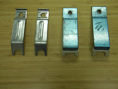 Lot of 4(2 pairs) Training wheels holders