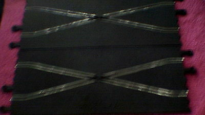 Scalextric - C.182 Straight 2 Track Crossover x 2 - New Old Stock !!!