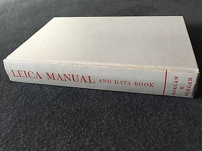 LEICA MANUAL AND DATA BOOK (Hardcover 1956)