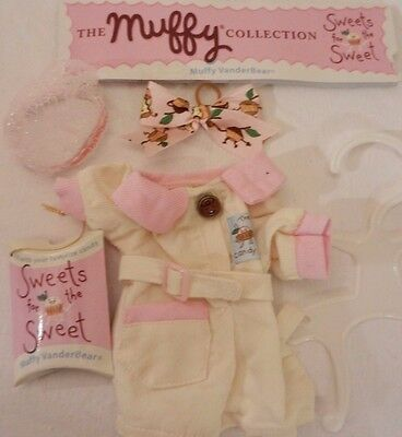 "Muffy Vanderbear Collection ""Sweets for the Sweet"" Outfit Accessories NEW"