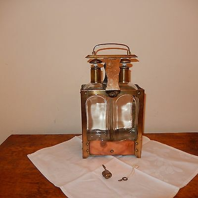 Collectable Oil and Vinegar bottle set in Caddy