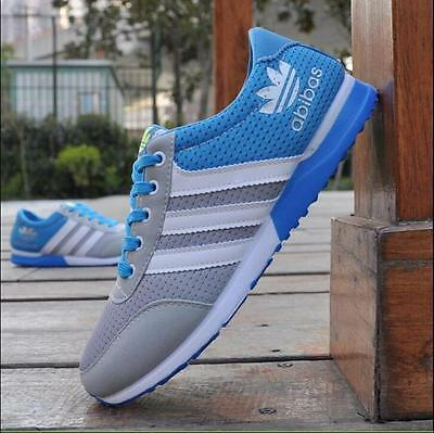 Men Outdoor sports shoes Fashion Breathable Casual Sneakers running Shoes US 8.5