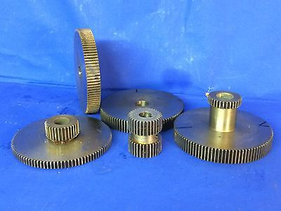 Steel Straight Toothed Spur Gears 5off.