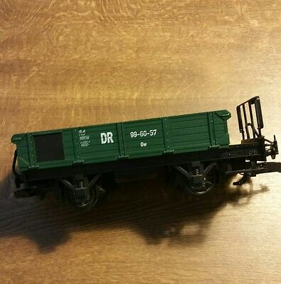 LEHMANN g gauge DR train wagon in green, for garden railway.