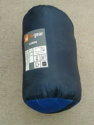 Hi gear mono fibre sleeping bag.  New.