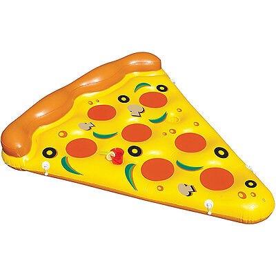 International Leisure Giant Inflatable Floating Pizza Slice - Pool & Watersports