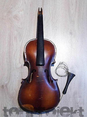 PROJECT old 4/4 STAINER VIOLIN  Made in Germany fiddle violon Geige 小提琴 repair