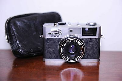 Olympus 35RC Fixed Lens Rangefinder Camera Olympus E.Zuiko 42mm F2.8 Lens #331