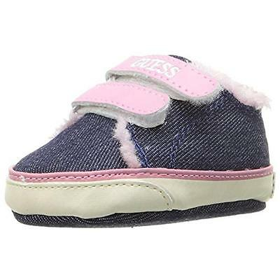 Guess 6649 Girls Flo 3 Blue Toddler Casual Shoes Sneakers 4 Medium (B,M) BHFO