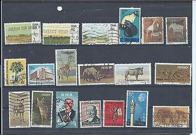 South West Africa stamps. Small used lot. (Z168)