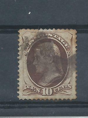 United States stamps. 1870 10c Jefferson used.. (Z279)