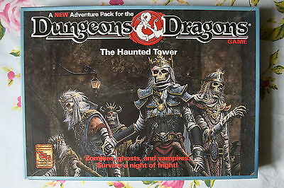 The Haunted Tower Dungeons & Dragons (D&D) Boxed Game / Board Game / Adventure