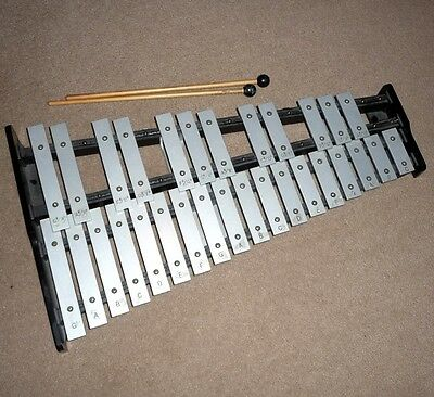 Cb Orchestra Bells, 32 Note, With Mallets, Xylophone