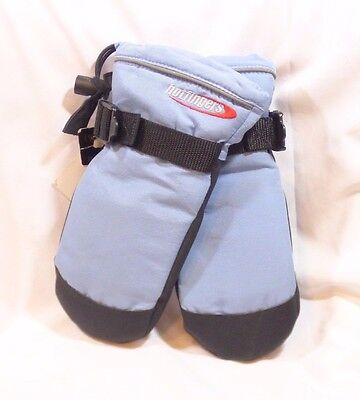 Hotfingers Mittens Youth Child Size Small 5-6 Blue New Thick Soft Warm Snow SB67