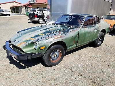 1977 Datsun Z-Series  1977 Datsun 280Z- 5 Speed-Long, Long Time Sitter-Solid Original Rustfree Project