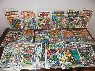 What If Marvel Comic LOT 1 - 45 Please Read