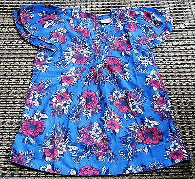 Ouch Girls Floral Top Sz 8 New Without Tags