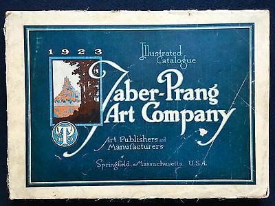 Taber-Prang Art Company 1923 illustrated catalogue catalog - 248 pages