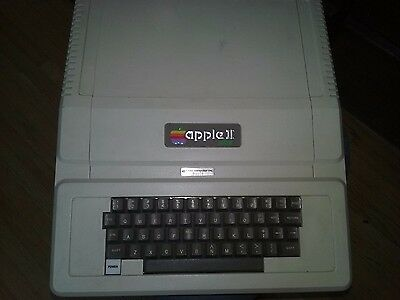 Apple II Plus with 3x Floppy Drives/Joystick