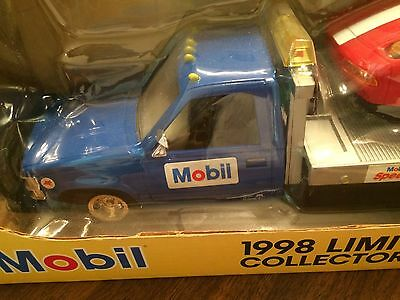 Mobil 1998 Limited Edition Collector's Toy Truck (Car Carrier): FREE SHIPPING