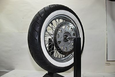 2003 Suzuki VL800 Intruder Volusia Front Wheel Rotor & Tire