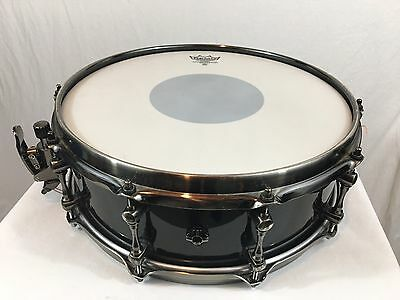 """Used Mapex Black Panther Black Widow Series 14"""" X 5"""" Deep Snare Drum Maple Shell"""