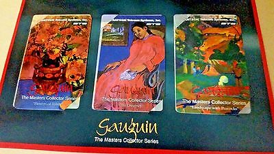 "STS Master's Series ""Paul Gauguin"" Collector Phone Cards Limited Edition"