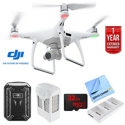 DJI Phantom 4 Pro Quadcopter Drone - CP.PT.000488 with Ultimate Bundle