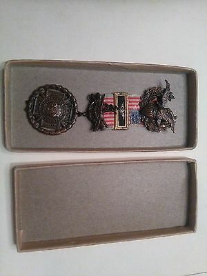 Original Spanish American War Officers Medal From 1898- 1902