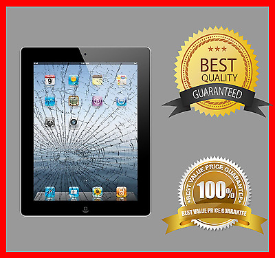 Apple iPad 2 Digitizer Cracked Broken Screen Repair Service