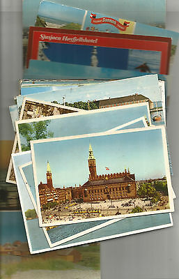 Nice Lot Of 86 Postcards From Denmark