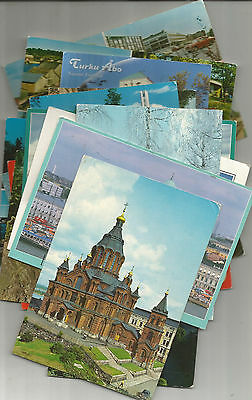 Nice Lot Of 16 Postcards From Finland