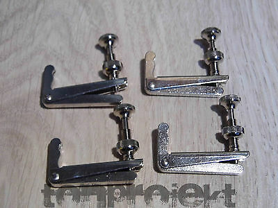 4x WITTNER Accord fin 4/4 Violoncelle finetuner Germany