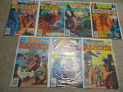 7 DC Weird Western Tales Bronze Age Comic Books