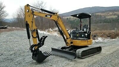 Bobcat E80 Excavator Hydraulic Thumb Heat A/c Long Arm Ready To Work In Pa!