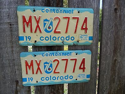 Colorado Centennial License Plate Must See!
