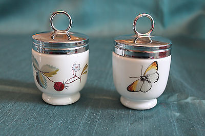 Pair Of Royal Worcester Egg Coddlers