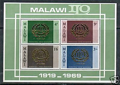 Malawi 1969 Labour Organisations MS SG 328 MNH