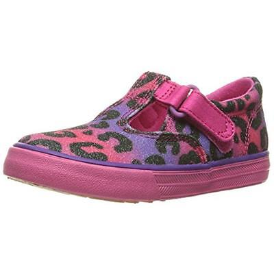 Keds 5363 Girls Daphne Pink Toddler T-Strap Shoes Sneakers 4 Medium (B,M) BHFO