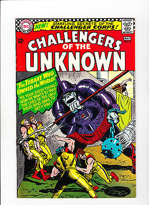 Challengers of the Unknown #49 (Apr-May 1966, DC) - white pages