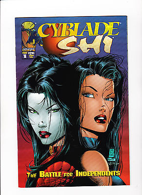 Cyblade / Shi: The Battle for Independents #1 (1995, Image) First Sarah Pezzini