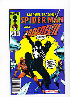 Marvel Team-Up #141 (May 1984, Marvel) - News Stand Edition