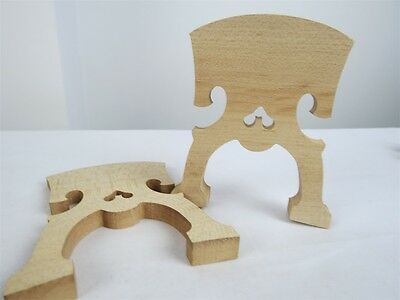 10pcs Best model baroque style fine maple cello bridges 4/4