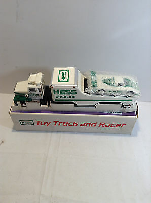Hess 1988 Toy Truck and Racer