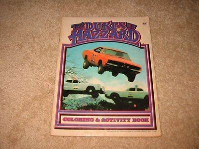 The Dukes of Hazzard - Coloring & Activity Book - 1981- Some use