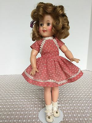 """12"""" 1957 Ideal All Original Shirley Temple Doll"""