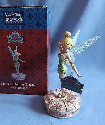 "Disney Traditions ""LET YOUR DREAMS BLOSSOM"" Tinkerbell Enesco Jim Shore"