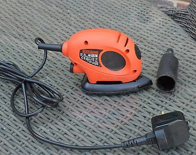 Black & Decker Mouse Detail Sander with Accessories KA161BC - 55W. LU911